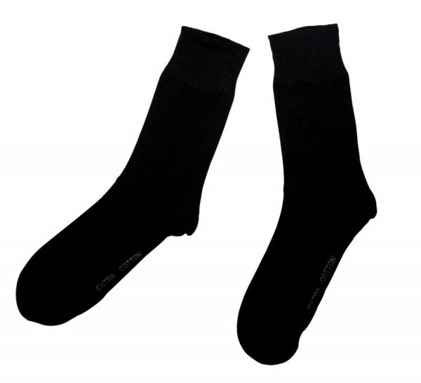 Herren-Socken schwarz Größe 42
